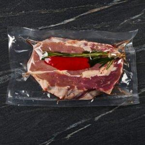New York steak marinated