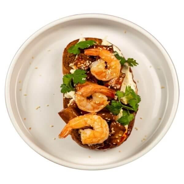 6. tost s baklazhanom