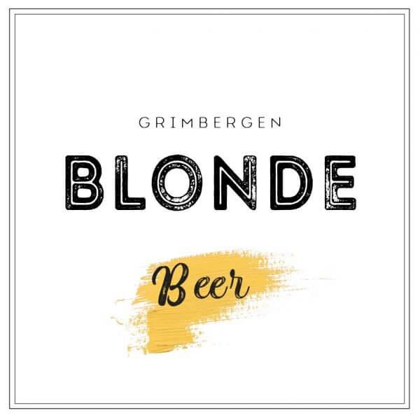 UG pivo Grimbergen Blonde