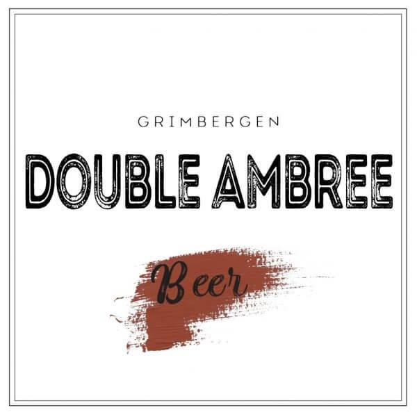 UG pivo Grimbergen Double Ambree