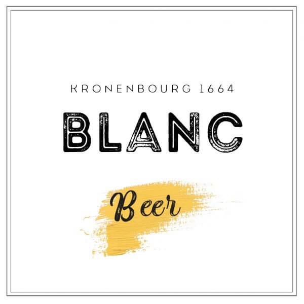pivo Kronenbourg 1664 Blanc