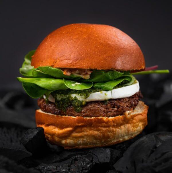2. burger Pesto