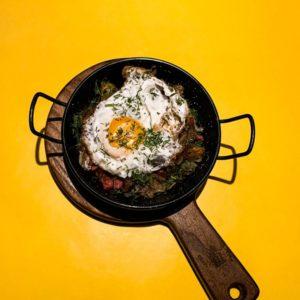 Сковорода по домашнему с колбасками